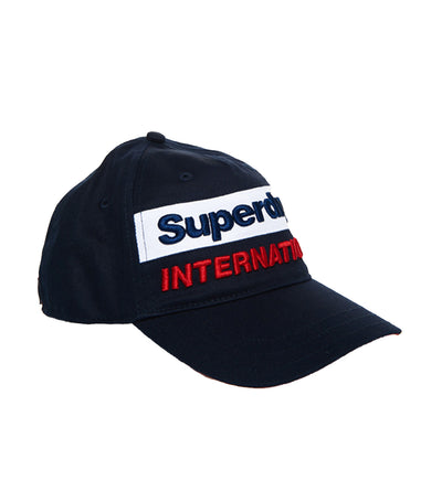 Men's International Cap Navy and Red