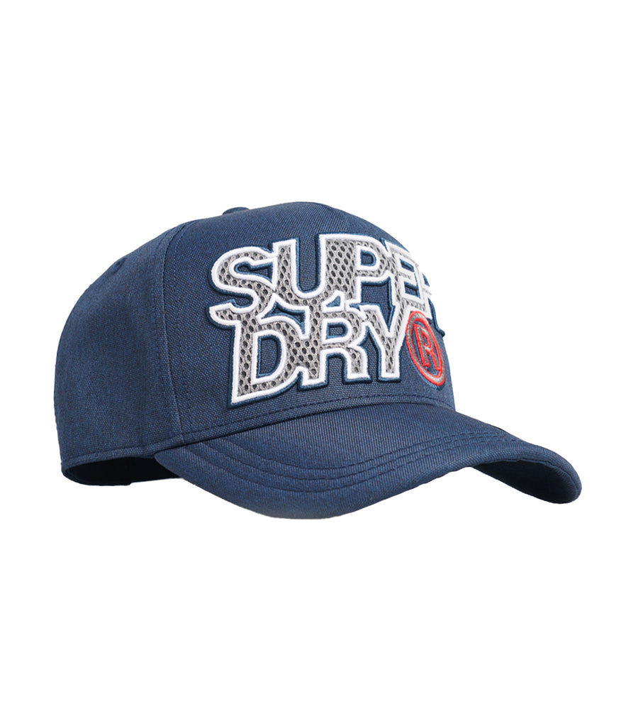 Men's Crewer Racer Cap Navy