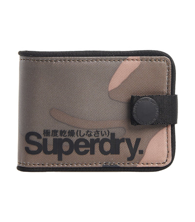 Men's Tarp One Popper Wallet Camo