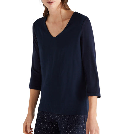 Women Combined Comfortable Top Navy