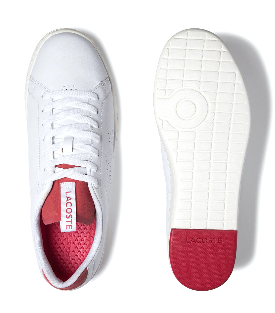 Men's Carnaby Evo Lightweight Leather Sneakers White/Red