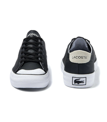 Men's Gripshot Leather and Suede Sneakers Black/Off White