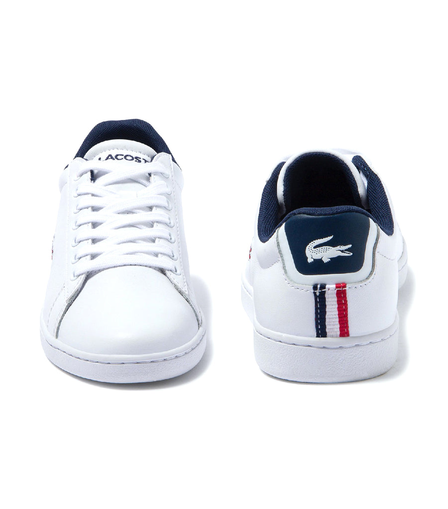 Women's Carnaby Evo Tricolore Leather Sneakers White/Navy/Red