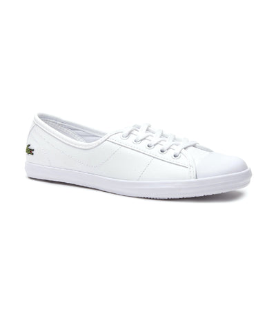Women's Ziane BL Leather Sneakers White