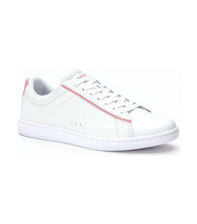 Women's Carnaby Evo Leather Sneakers White/Pink