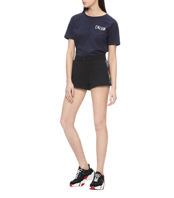 Women's Graphic Logo T-shirt Navy Blue