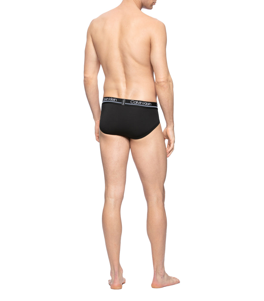 Men's Active Mesh Micro Brief Black