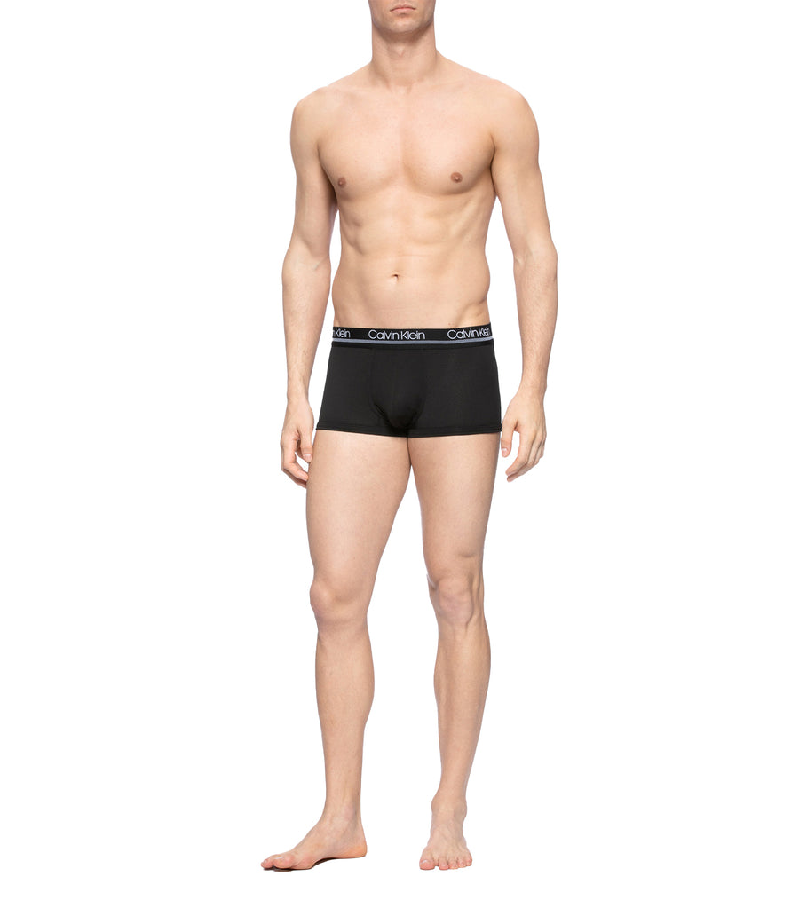 Men's Active Micro Hip Trunk Black