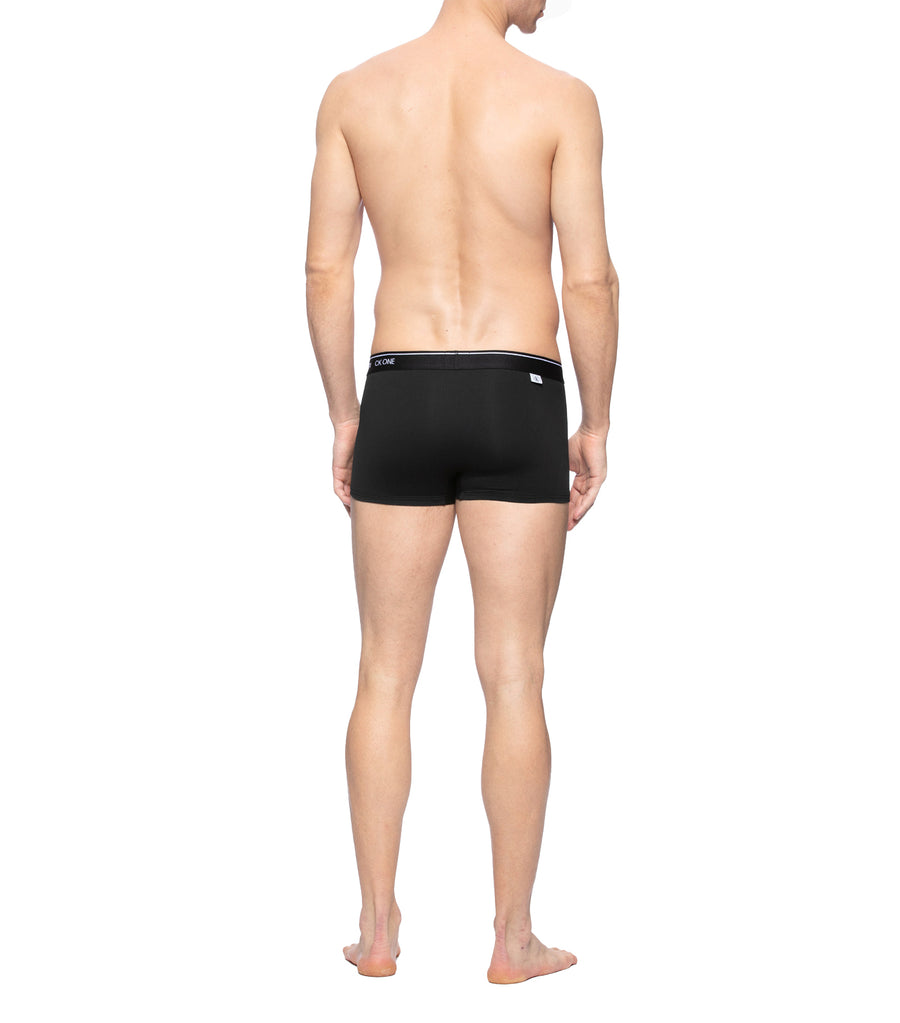 Men's CK One Micro Low Rise Trunk Black