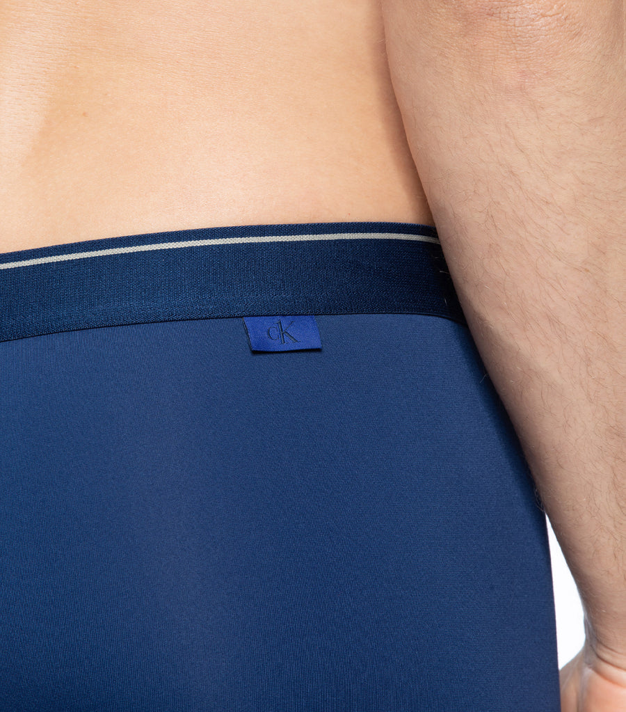 Men's CK One Micro Low Rise Trunk Pert Blue