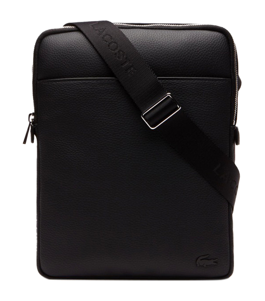 Men's Gael Medium Flat Crossover Bag Black