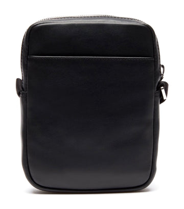 Men's L.12.12. Cuir Casual Slim Vertical Camera Bag Black