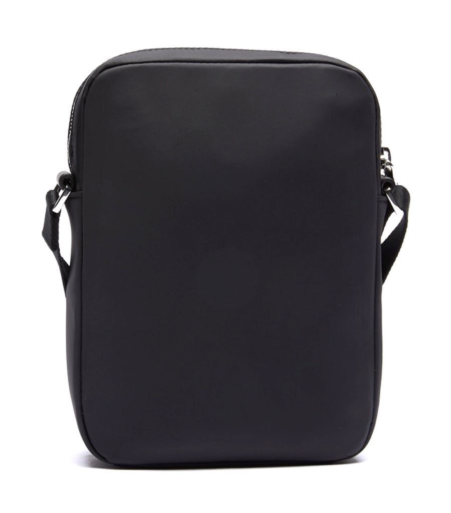 Men's L.12.12 Cuir Animation Medium Vertical Camera Bag Black