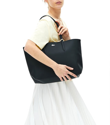 Women's Anna Reversible Tote Bag Black/Warm Sand