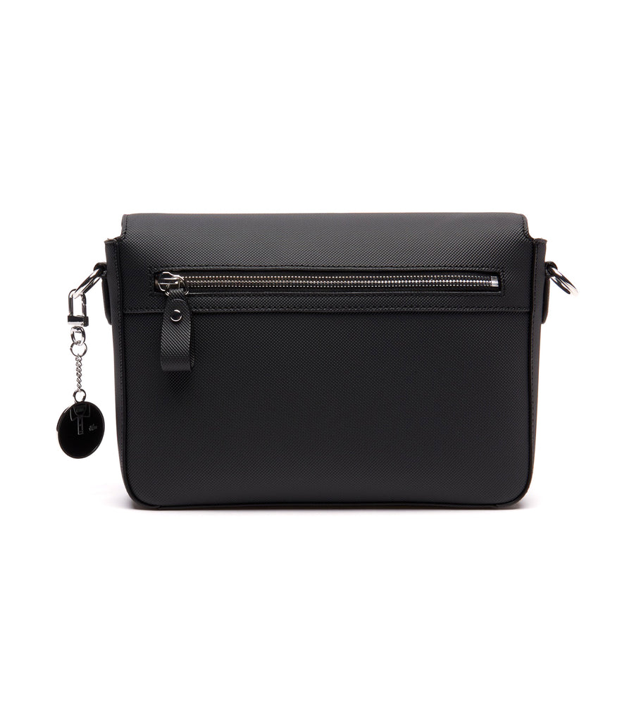 Women's Daily Classic Flap Crossover Bag Black