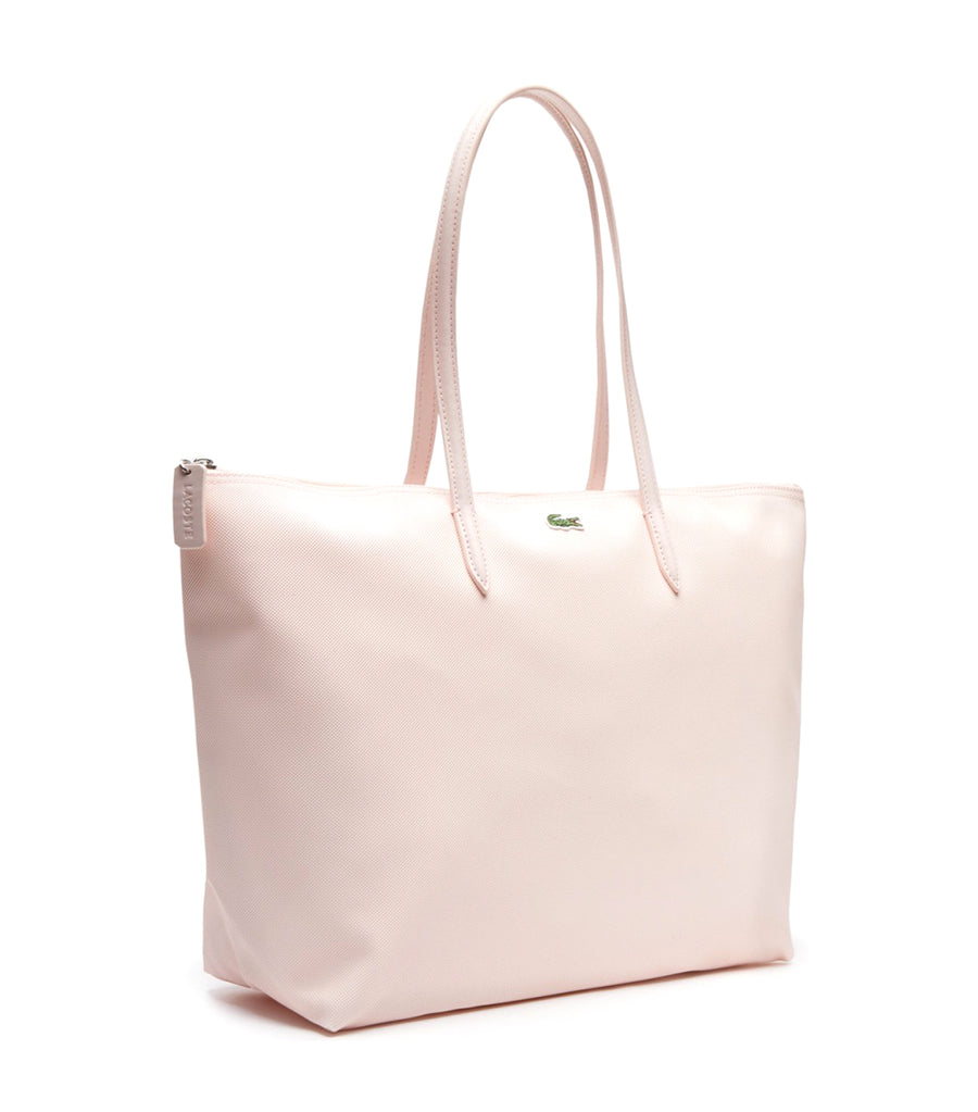 Women's L.12.12 Concept Large Zip Shopping Bag Pearl