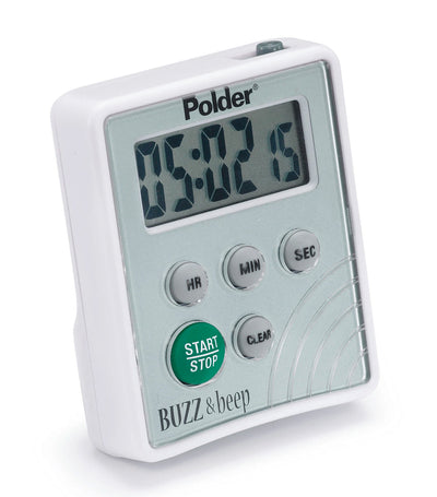 Polder Digital Buzz and Beep Timer