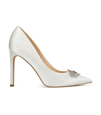 Trulove2 Pointy Toe Pumps White