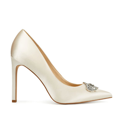 Trulove2 Pointy Toe Pumps Ivory