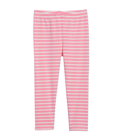 gap kids pink stripe toddler leggings in stretch jersey