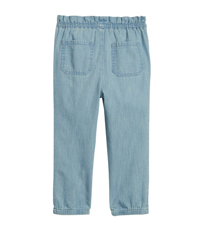 gap kids toddler chambray joggers
