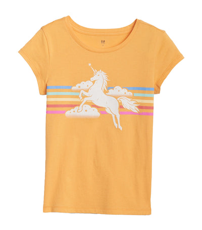 gap kids mango juice graphic short sleeve t-shirt