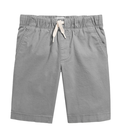 old navy kids built-in flex flat-front jogger shorts - fog city
