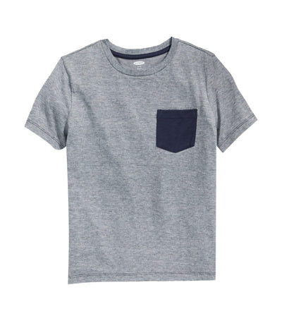 old navy kids softest crew-neck tee - in the navy
