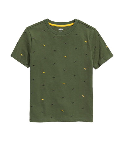 old navy kids softest printed tee - dinosaurs