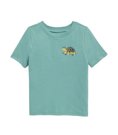 old navy toddler graphic short-sleeve tee - english channel