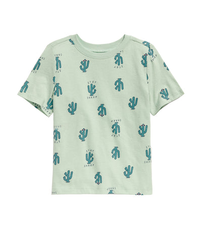 old navy toddler softest crew-neck tee - stay sharp