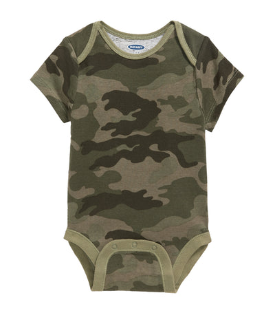 old navy toddler printed bodysuit - camo