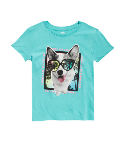old navy kids graphic crew-neck tee - move to my own beat