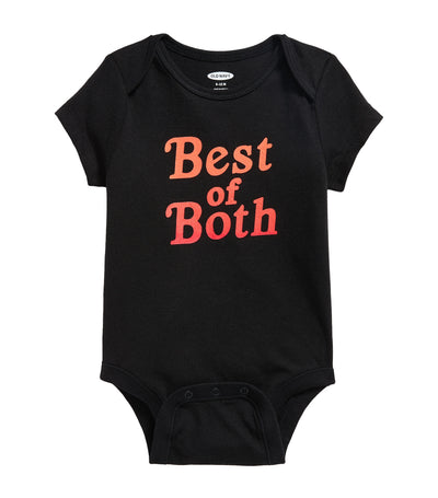 old navy toddler graphic bodysuit - best of both