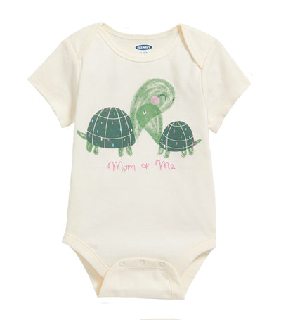 old navy toddler graphic bodysuit - mom and me