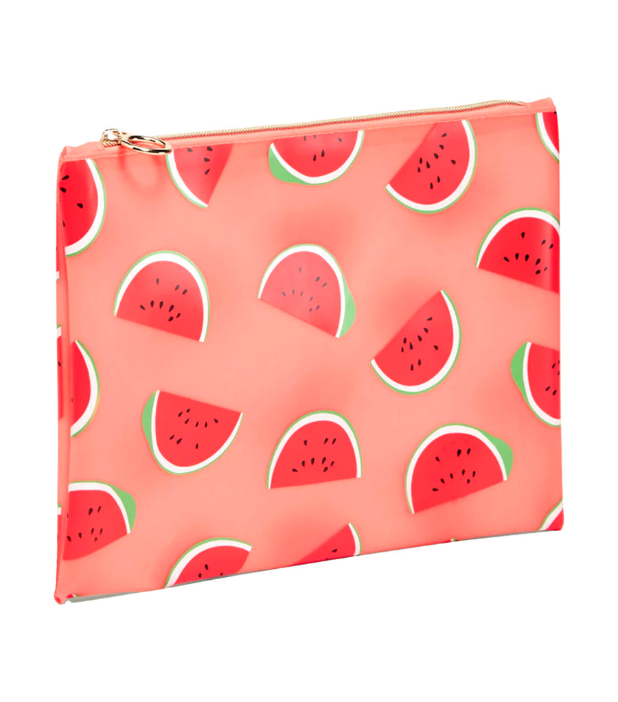Printed Plastic Bikini Bag Watermelon