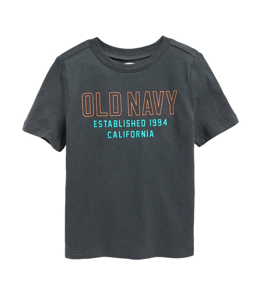 old navy toddler logo-graphic short-sleeve tee - panthers