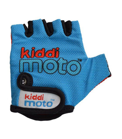 Kids Cycling Gloves - Blue