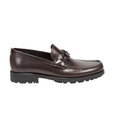 Gancini Moccasins Dark Brown
