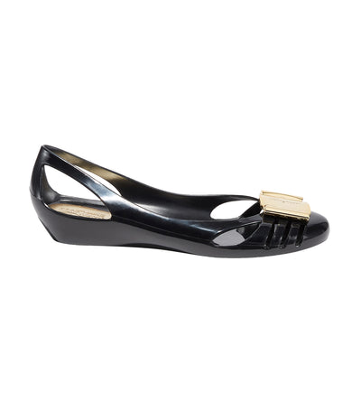 Jelly Ballet Flats Black