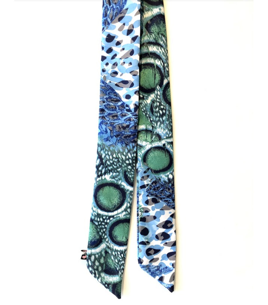 Handle Wraps Taylor Printed Blue Green