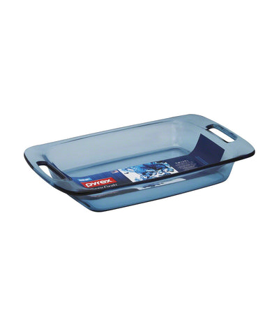 Pyrex Easy Grab 3QT Oblong Baking Dish - Atlantic Blue