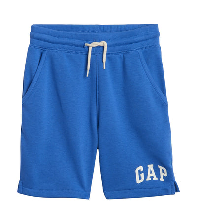 gap kids blue galaxy toddler gap logo shorts in french terry