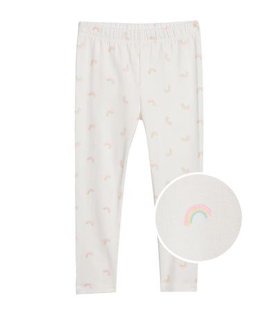 gap kids toddler leggings in stretch jersey - rainbow daisy