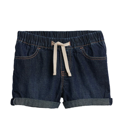 gap kids dark indigo toddler denim shorts