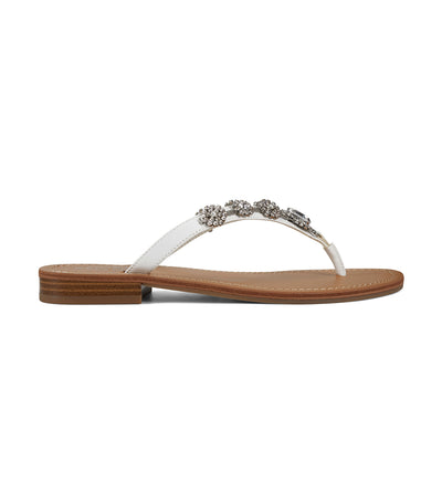 Perfect3 Thong Sandals White