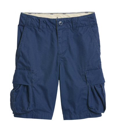gap kids blue boy cargo shorts