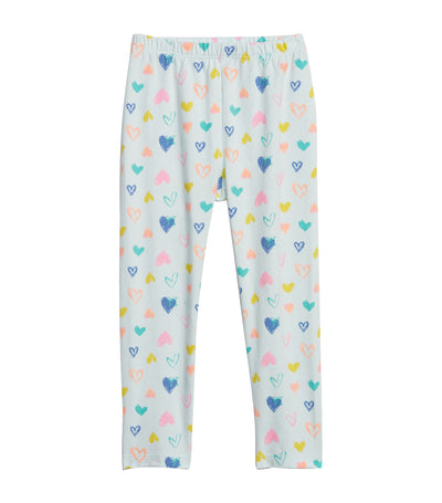 gap kids toddler leggings in stretch jersey - multi hearts milk