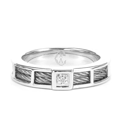 Promise Band Ring Silver