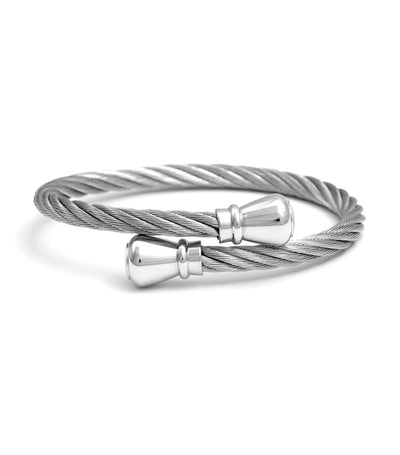 Celtic Bangle Bourse Gray